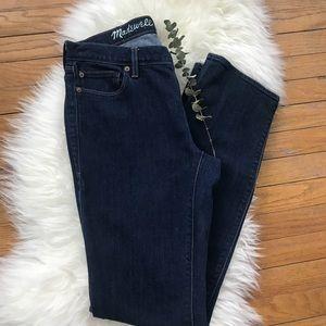 Madewell Rail Straight Straight Leg Dark Jeans